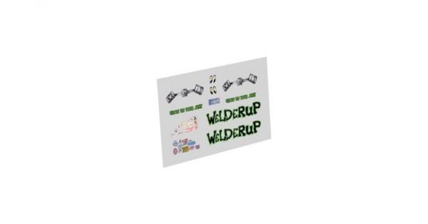 Decals Welderup Whitetoner